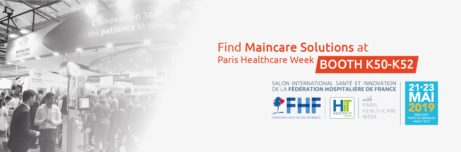 Join us at Paris Healthcare Week!