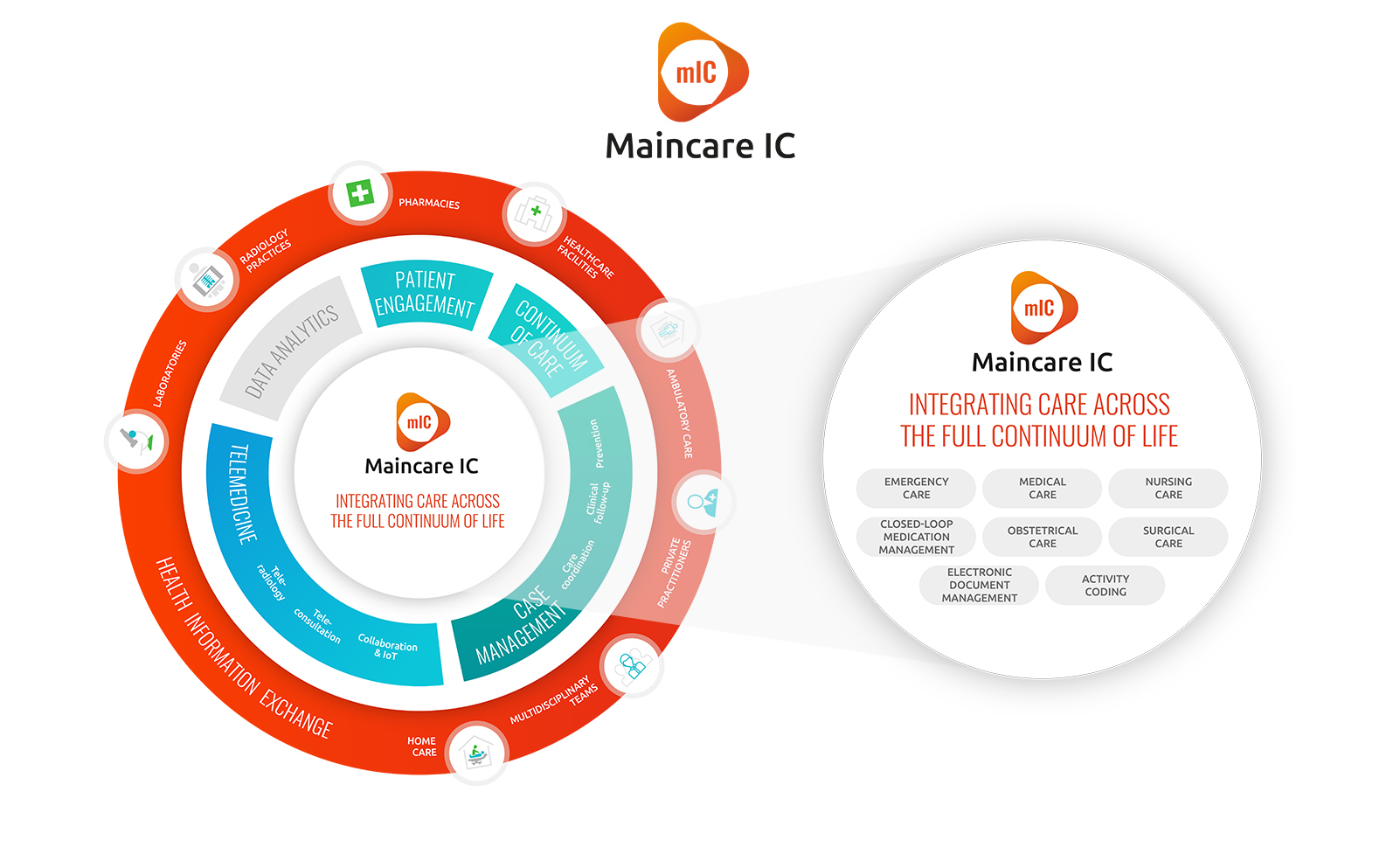Maincare IC schematic illustration